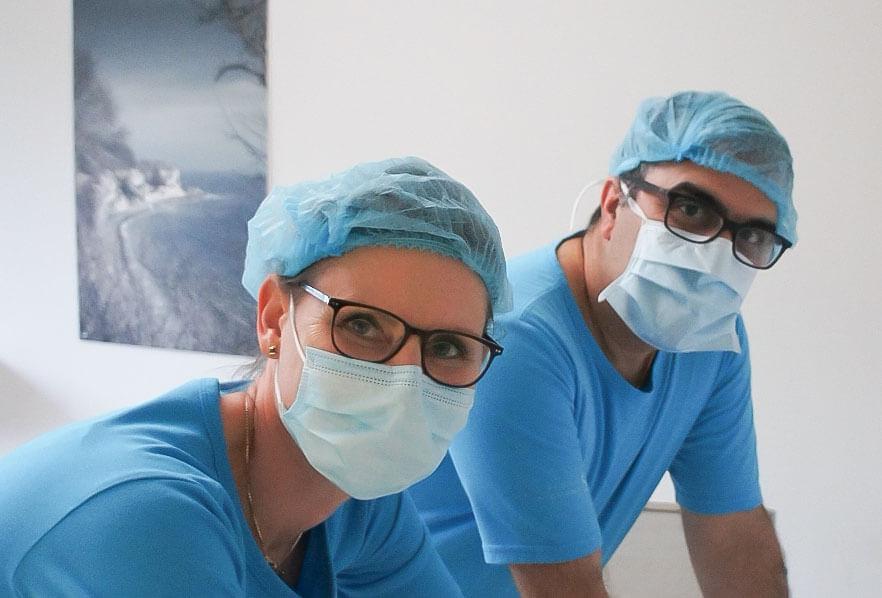 Tandkirurgi i klinikken